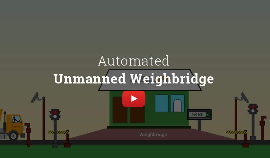 Automated unmanned Weighbridge